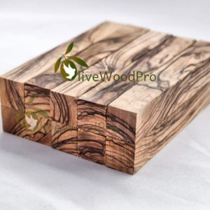 Olive wood pen blanks Premium quality Bethlehem figured Holy Land