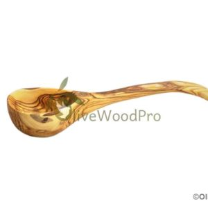Olive wood Ladle / spoon 30 cm Premium Quality Utensil Kitchen OLIVE WOOD cooking wooden Holy Land